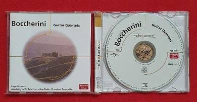 BOCCHERINI GUITAR QUINTETS Classical CD