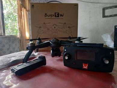 DRONE MJX BUGS 5W 4K fullset