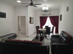 2CP + Fully Furnished Kristal View Seksyen 7 Shah Alam Ken Rimba icity