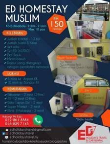 Muslim Homestay KKIA