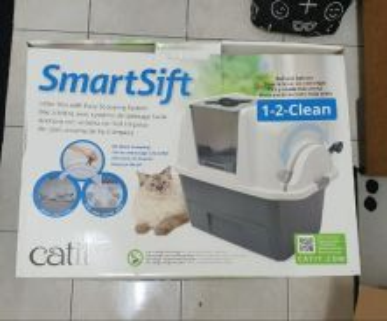 SmartSift Sifting Cat Pan