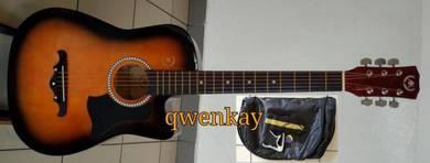 Acoustic Guitar 38Inch A&K #010 Sunburst