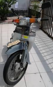 Honda c70 untuk dijual