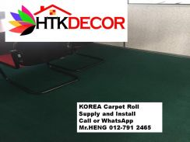 Advisors installation of office carpet roll 85AR