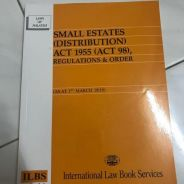 Small Estate (Distribution) Act 1955
