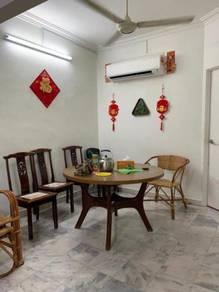 2styhalf Terrace house Taman Sri Nibong bukit kecil near queensbay