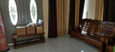 Set kerusi kayu3+2+1