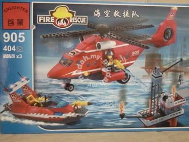 Bricks - EN 905 Sea Rescue Bomba / Firefighter