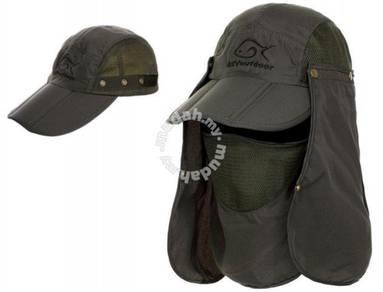 UV Protection Outdoor Fishing Gardening Cap Hat