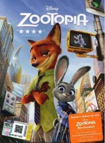 DVD Disney Zootopia
