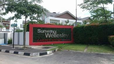Sunway Wellesley Garden Villas upper unit (Townhouse) Permatang Rawa