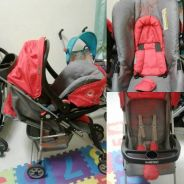 Preloved Stroller + Baby carrier