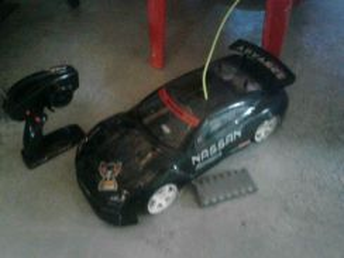 Rc Car untuk Dilepaskan. Cover ade calar sikit je