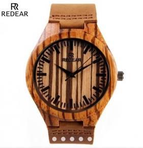Jam tangan kayu/ Wooden watches (Redear)