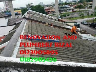 Repai roof leaks setiawangsa