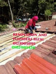 Repair roof leaks sungai besi