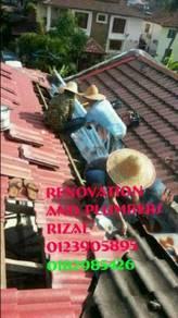 Repair roof leaks taman tun dr ismail