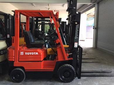 Japan Import TOYOTA 1.5 Ton Forklift 5FG