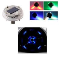 NEW Auto LED Solar Flash Wheel Tire Rim Light Lamp