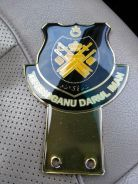 Terengganu Emblem Badge Gold Version for Car