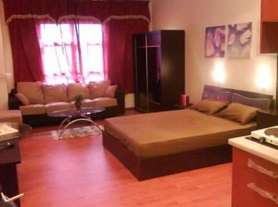 Maytower fully furnished studio unit (near Masjid Jamek LRT)