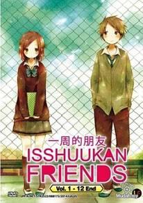 DVD ANIME Isshuukan Friends Vol.1-12End