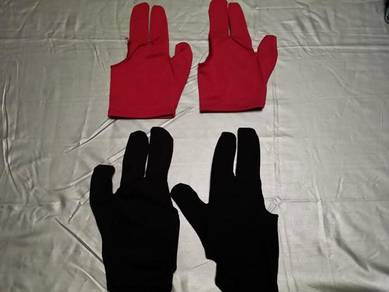 Snooker Billiard Cue Glove Pool Three Finger