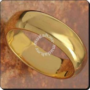 ABRGF-P001 9k Gold Filled Smooth Plain Ring