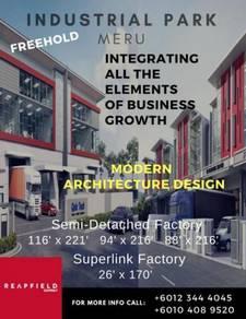 Double Storey Superlinked Factory Near Klang Sentral