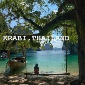 Cuti Cuti 3D2N Krabi, Thailand