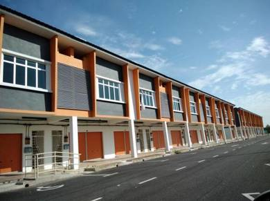 Double Storey Shop Office, Jln Melor, Sungai Lalang