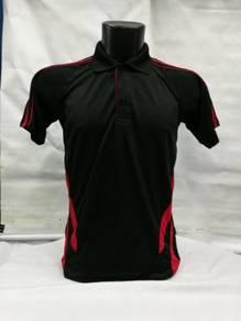 Baju Tshirt QD27 Tangan Pendek Collar Microfiber