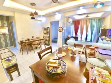 Booking RM1,000 Villaria Kondominium Petaling Jaya(VIEW SWIMMING POOL)