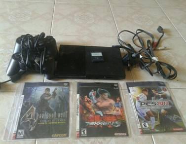 Playstation 2 nk jual 250 atau swap ng fon.