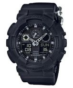 Watch- Casio G SHOCK GA100BBN -ORIGINAL