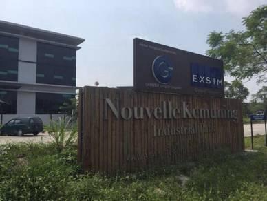 Shah Alam Bukit Kemuning Nouvel Industrial Park Semi D Factory