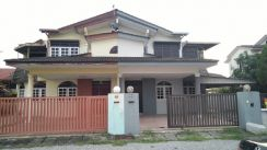 2 storey semi detached house for sale at Pasir Putih / Pengkalan