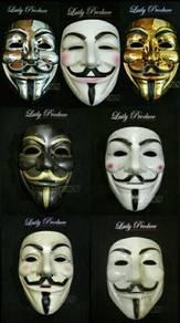 Topeng muka mask vendetta anonymous guyfawkes