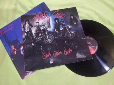 Motley Crue 1987 Elektra LP