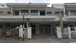 Ipoh Pengkalan double sty terrace house