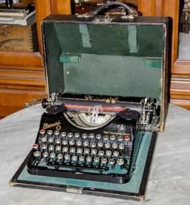 Antique rheinmetall germany mechanical typewriter