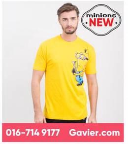 Baju Minions Yellow Shirt *Free Shipping