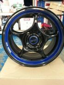 Rim 15 INCH ENKEI RPO1 (BLACK BLUE)THAILAND MADE