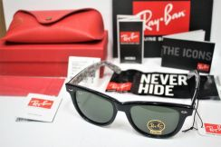 Ray Ban Wayfarer Rareprint RB2140 1015 54MM Large