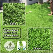 Premium C-Shape Artificial Grass Rumput Tiruan 09