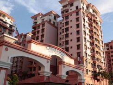 Marina Court | Kota Kinabalu | 3R2B | 10 flr | Fully Furnished