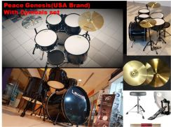 Peace Genesis (USA) Acoustic Drum with Cymbals set