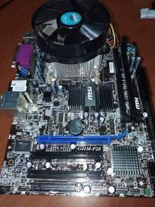 Intel core 2 quad q6700 combo