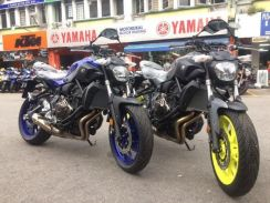 Yamaha MT-07 (0% GST) Blacklist Can Try Apply