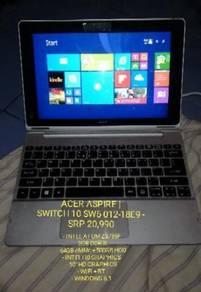 Acer aspire | switch 10 sw5-012-18e9